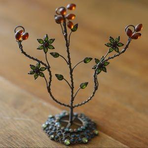 Jeweled Jewelry Tree